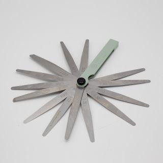 Rakotulkki 0.002 - 1mm, 17 lehteä