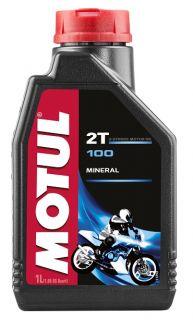 Motul 1L 100 Motomix 2T mineraaliöljy