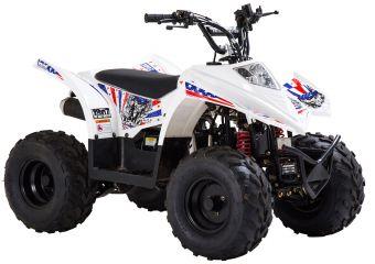 Mönkijä valmistajalta Ten7, ATV90 värissä  1