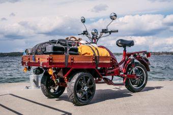 Skootteri valmistajalta MGB Starbridge, Delivery värissä  0
