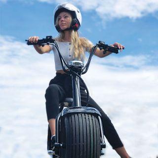 Harleyscooter valmistajalta X-PRO, Fatboy värissä  1